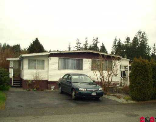 "Main Photo: 21 3031 200TH ST in Langley: Brookswood Langley Manufactured Home for sale in ""CEDAR CREEK"" : MLS®# F2604355"
