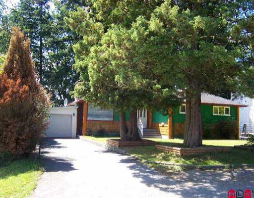 Main Photo: 2827 CAMBRIDGE ST in Abbotsford: Central Abbotsford House for sale : MLS®# F2513671