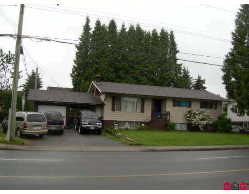 "Main Photo: 32894 BEVAN Avenue in Abbotsford: Central Abbotsford House for sale in ""Bevan"" : MLS®# F2715031"