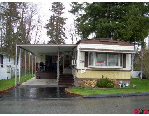 "Main Photo: 136 7790 KING GEORGE Highway in Surrey: East Newton Manufactured Home for sale in ""CRISPEN BAYS"" : MLS®# F2703131"