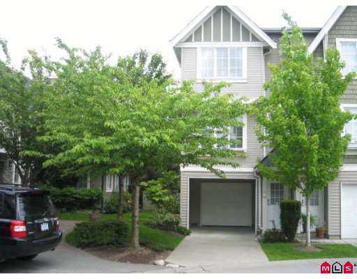 "Main Photo: 110 8775 161ST Street in Surrey: Fleetwood Tynehead Townhouse for sale in ""BALLANTYNE"" : MLS®# F2713919"