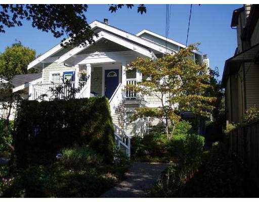"""Main Photo: 2585 W 6TH Avenue in Vancouver: Kitsilano Townhouse for sale in """"THE PRESTIGE"""" (Vancouver West)  : MLS®# V668625"""