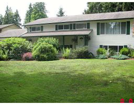 Main Photo: 9047 TRATTLE Street in Langley: Fort Langley House for sale : MLS®# F2801975