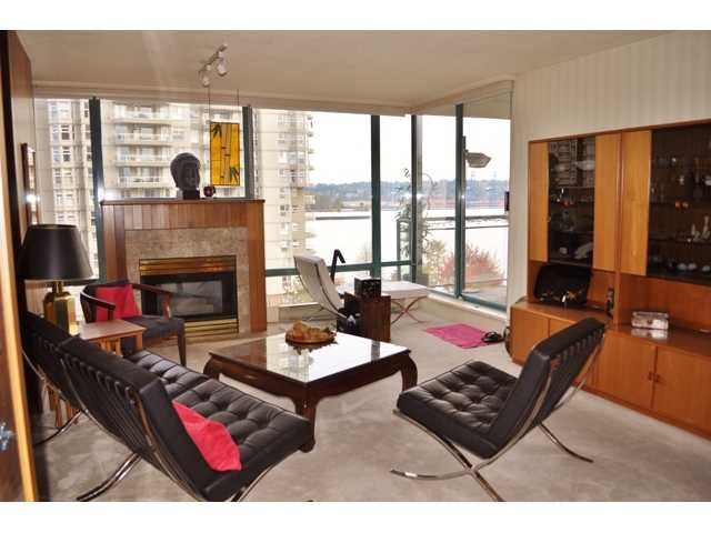 "Main Photo: # 702 8 LAGUNA CT in New Westminster: Quay Condo for sale in ""THE EXCELSIOR"" : MLS®# V918380"