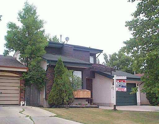 Main Photo: 170 ASHFORD Drive in Winnipeg: St Vital Single Family Detached for sale (South East Winnipeg)  : MLS®# 2612062