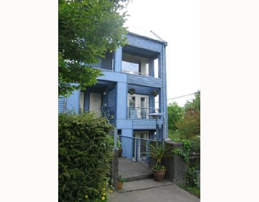 Main Photo: 2203 ALDER Street in Vancouver: Fairview VW Townhouse for sale (Vancouver West)  : MLS®# V713074