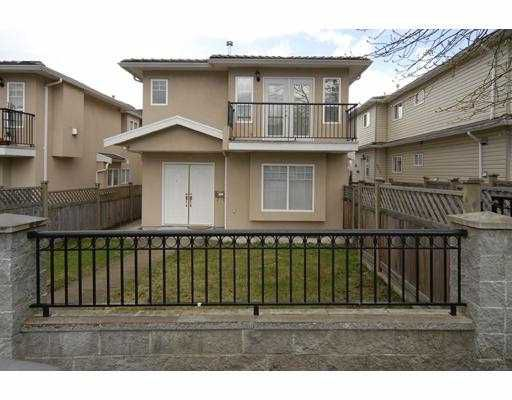 Main Photo: 5015 NORFOLK Street in Burnaby: Central BN House 1/2 Duplex for sale (Burnaby North)  : MLS®# V701551