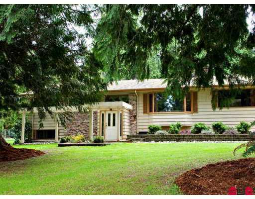 Main Photo: 13288 WOODCREST Drive in White_Rock: Elgin Chantrell House for sale (South Surrey White Rock)  : MLS®# F2708577