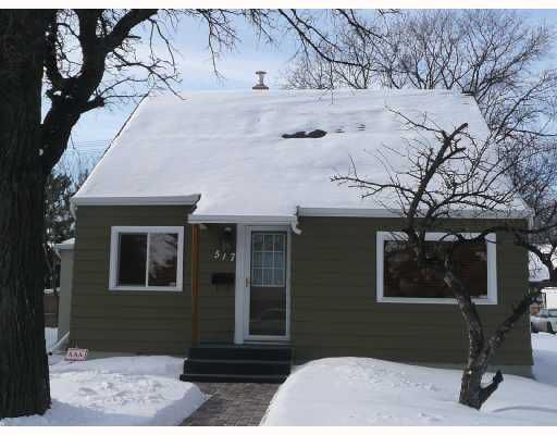 Main Photo: 517 DES MEURONS Street in WINNIPEG: St Boniface Residential for sale (South East Winnipeg)  : MLS®# 2801085