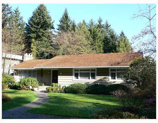 Main Photo: 4971 COLLEGE HIGHROAD BB in Vancouver: University VW House for sale (Vancouver West)  : MLS®# V704243
