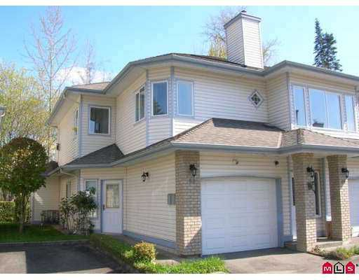 "Main Photo: 64 21579 88B Ave in Langley: Walnut Grove Townhouse for sale in ""CARRIAGE PARK"" : MLS®# F2709337"