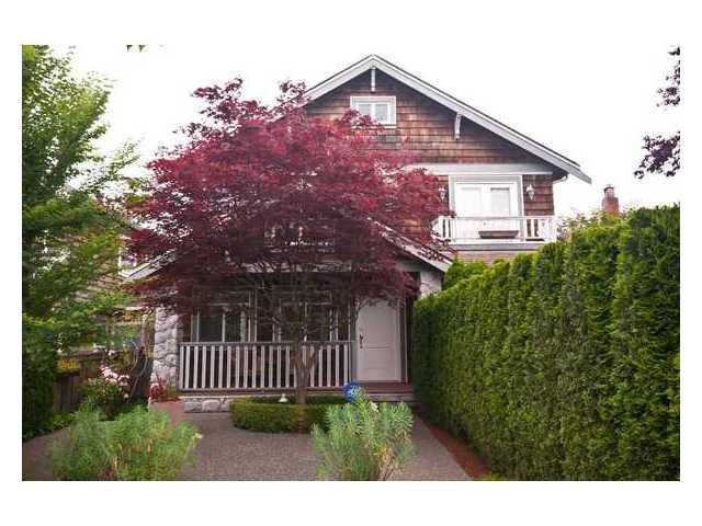 Main Photo: 2961 W 5th Avenue in Vancouver: Kitsilano House 1/2 Duplex for sale (Vancouver West)  : MLS®# V920656