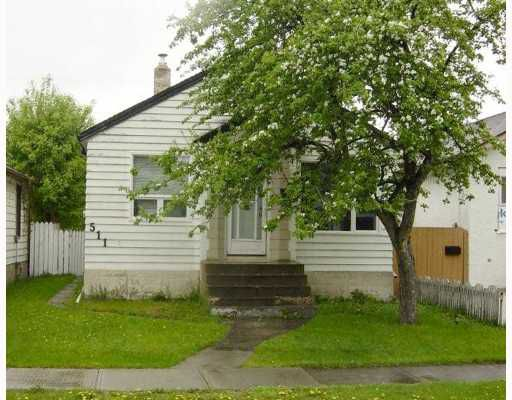 Main Photo: 511 BOWMAN Avenue in WINNIPEG: East Kildonan Residential for sale (North East Winnipeg)  : MLS®# 2809616