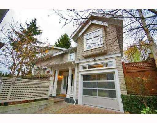 Main Photo: 2377 W 6TH Avenue in Vancouver: Kitsilano Townhouse for sale (Vancouver West)  : MLS®# V677889