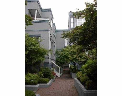 """Main Photo: 16 877 W 7TH AV in Vancouver: Fairview VW Townhouse for sale in """"EMERALD COURT"""" (Vancouver West)  : MLS®# V547868"""