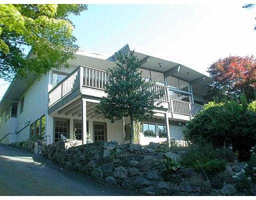 Main Photo: 889 FARMLEIGH RD in West Vancouver: British Properties House for sale : MLS®# V549196