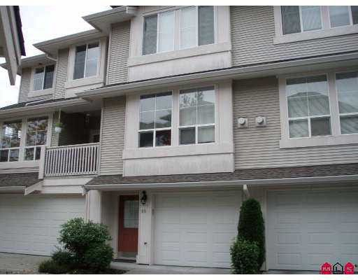 "Main Photo: 60 14952 58TH Avenue in Surrey: Sullivan Station Townhouse for sale in ""HIGHBRAE"" : MLS®# F2728982"