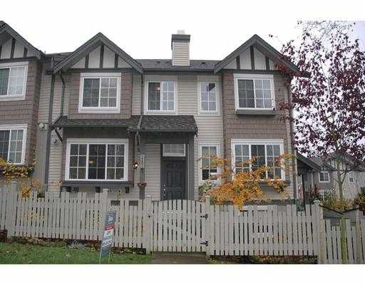 Main Photo: 3283 BEAVERBROOK DR in Burnaby: Simon Fraser Hills Townhouse for sale (Burnaby North)  : MLS®# V566225