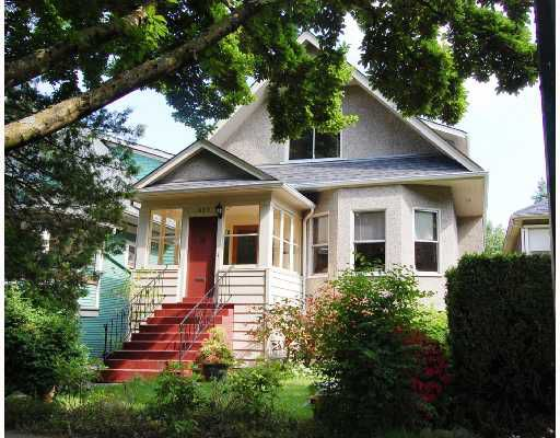 """Main Photo: 677 W 19TH Avenue in Vancouver: Cambie House for sale in """"DOUGLAS PARK"""" (Vancouver West)  : MLS®# V712934"""