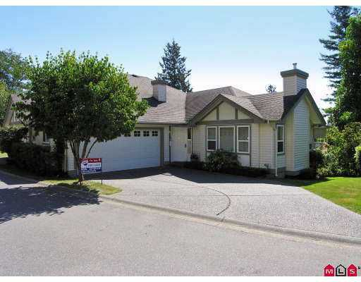 "Main Photo: 5 36099 MARSHALL Road in Abbotsford: Abbotsford East Townhouse for sale in ""UPLANDS"" : MLS®# F2722290"