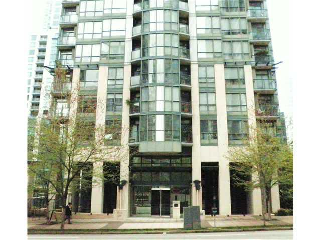 Main Photo: # 1805 1239 W GEORGIA ST in Vancouver: Coal Harbour Condo for sale (Vancouver West)  : MLS®# V888591