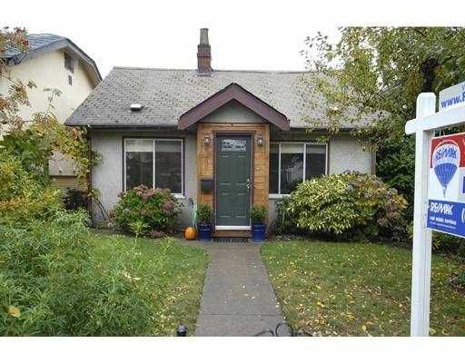 Main Photo: 5247 ELGIN Street in Vancouver: Fraser VE House for sale (Vancouver East)  : MLS®# V674797