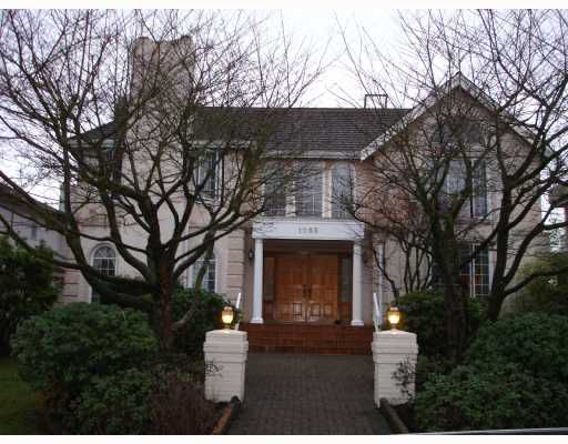 """Main Photo: 1088 W 50TH Avenue in Vancouver: South Granville House for sale in """"SOUTH GRANVILLE"""" (Vancouver West)  : MLS®# V681999"""