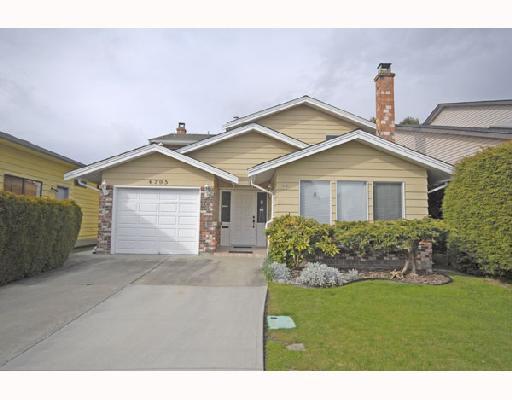 Main Photo: 4795 MAHOOD Drive in Richmond: Boyd Park House for sale : MLS®# V696963