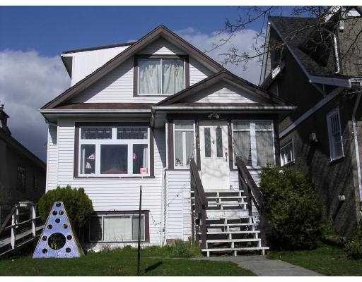 Main Photo: 591 W 20TH AV in Vancouver: House for sale : MLS®# V812495