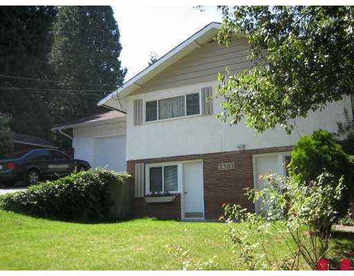 Main Photo: 2393 CLARKE Drive in Abbotsford: Central Abbotsford House for sale : MLS®# F2719191