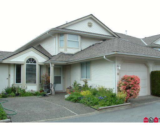 """Main Photo: 54 9045 WALNUT GROVE Drive in Langley: Walnut Grove Townhouse for sale in """"Bridlewoods"""" : MLS®# F2814591"""