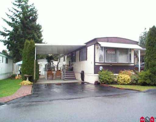 """Main Photo: 25 7790 KING GEORGE HY in Surrey: West Newton Manufactured Home for sale in """"Crispen Bays"""" : MLS®# F2522782"""