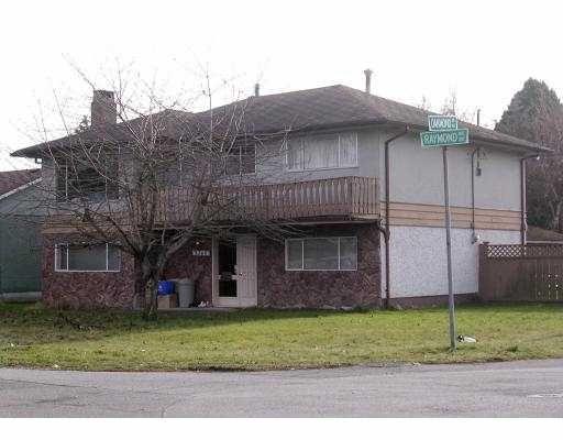 Main Photo: 3360 Raymond in Richmond: House for sale : MLS®# V801657