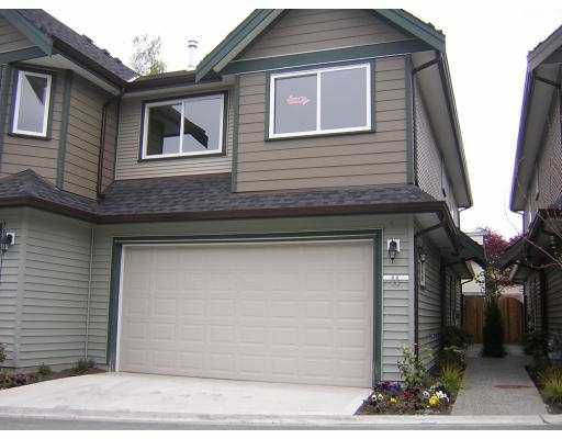 "Main Photo: 11 11100 NO 1 Road in Richmond: Steveston South Townhouse for sale in ""BRITIANIA COURT"" : MLS®# V643130"