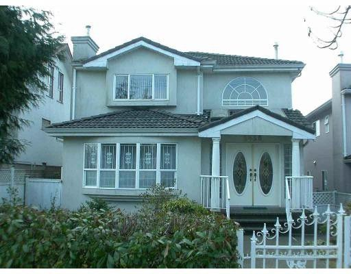 Main Photo: 3538 WELLINGTON Avenue in Vancouver: Collingwood VE House for sale (Vancouver East)  : MLS®# V677120