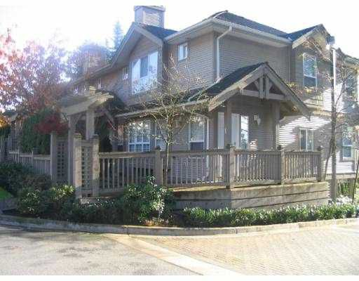 "Main Photo: 3 241 PARKSIDE DR in Port Moody: Heritage Mountain Townhouse for sale in ""PINEHURST"" : MLS®# V566219"