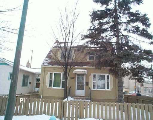 Main Photo: 884 WINNIPEG Avenue in Winnipeg: Brooklands / Weston Duplex for sale (West Winnipeg)  : MLS®# 2602488