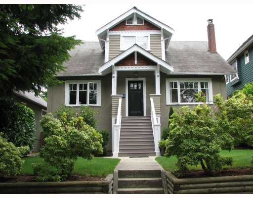 Main Photo: 4154 W 14TH Avenue in Vancouver: Point Grey House for sale (Vancouver West)  : MLS®# V667306