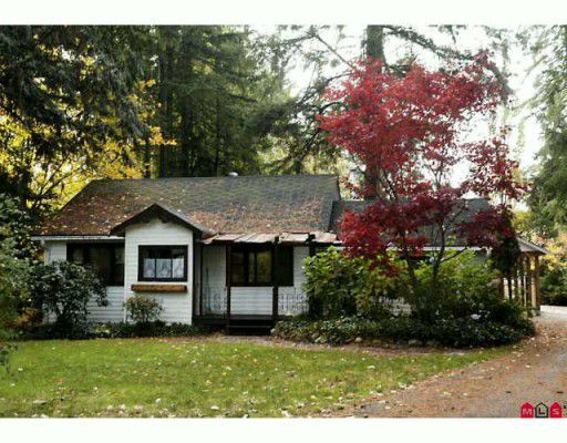 Main Photo: 23084 96TH Avenue in Langley: Fort Langley House for sale : MLS®# F2924885