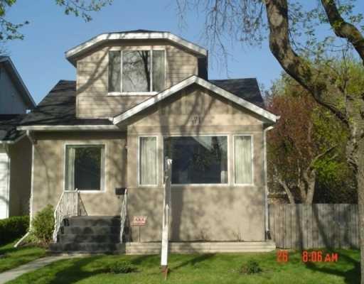 Main Photo: 471 RITCHOT Street in Winnipeg: St Boniface Single Family Detached for sale (South East Winnipeg)  : MLS®# 2605907