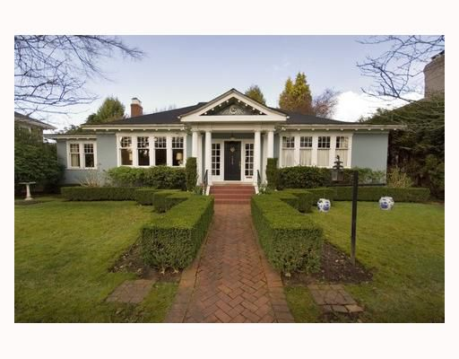 Main Photo: 1629 W 29TH Avenue in Vancouver: Shaughnessy House for sale (Vancouver West)  : MLS®# V696694