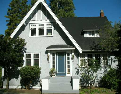 Main Photo: 1029 W 33RD Ave in Vancouver: Shaughnessy House for sale (Vancouver West)  : MLS®# V611982