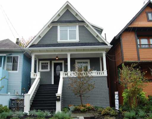 Main Photo: 2012 WILLIAM Street in Vancouver: Grandview VE House for sale (Vancouver East)  : MLS®# V795593