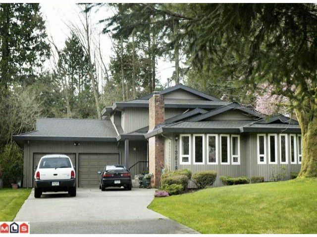 "Main Photo: 13518 19TH Avenue in Surrey: Crescent Bch Ocean Pk. House for sale in ""AMBLE GREENE"" (South Surrey White Rock)  : MLS®# F1006291"