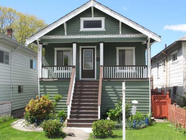 Main Photo: 3637 PRINCE ALBERT Street in Vancouver: Fraser VE House for sale (Vancouver East)  : MLS®# V829391