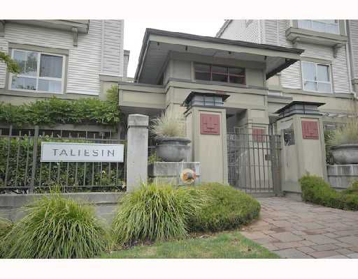 """Main Photo: 10 2375 W BROADWAY BB in Vancouver: Kitsilano Townhouse for sale in """"TALIESIN"""" (Vancouver West)  : MLS®# V725573"""
