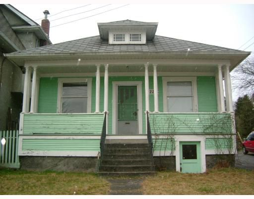 Main Photo: 2224 VICTORIA Drive in Vancouver: Grandview VE House for sale (Vancouver East)  : MLS®# V756259