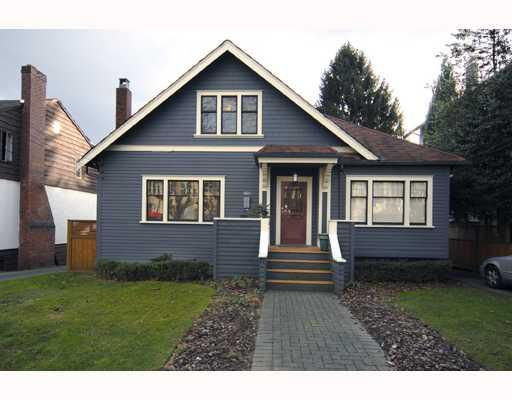 Main Photo: 660 W 13TH Avenue in Vancouver: Fairview VW House for sale (Vancouver West)  : MLS®# V761116
