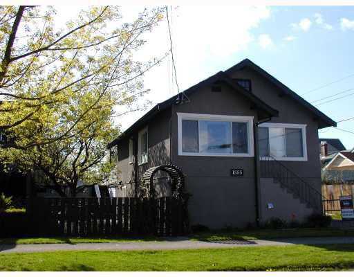 Main Photo: 1555 TEMPLETON Drive in Vancouver: Grandview VE House for sale (Vancouver East)  : MLS®# V763060