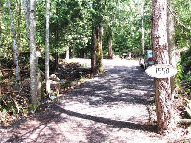 Main Photo: 1550 ADAMS Road: Bowen Island Home for sale : MLS®# V806312